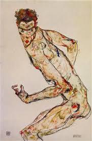 Egon Schiele - Lutteur