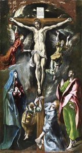 Crucifixion - musée du Prado