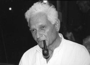 Portrait Jacques Derrida